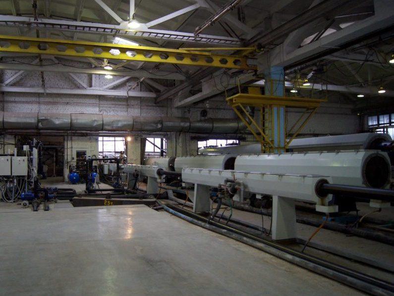 производство полиэтиленовой трубы