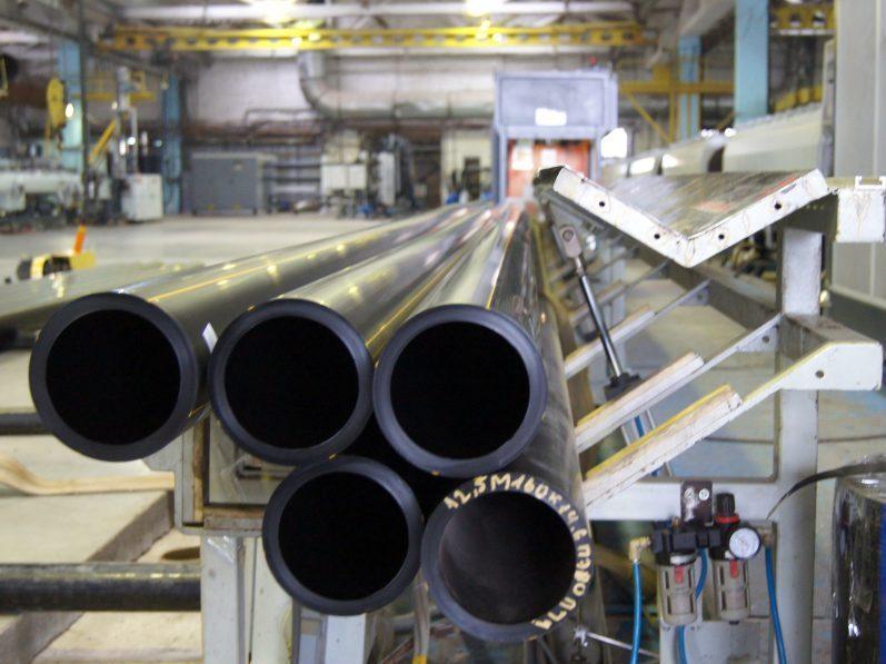 производство полиэтиленовой трубы ПЭ 80