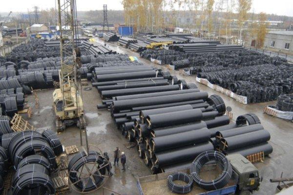 производство канализационной полиэтиленовой трубы