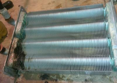 Ремонт теплообменника газового котла Electrolux