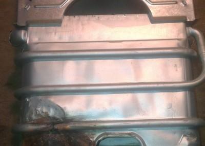 Ремонт теплообменника газовой колонки Vaillant