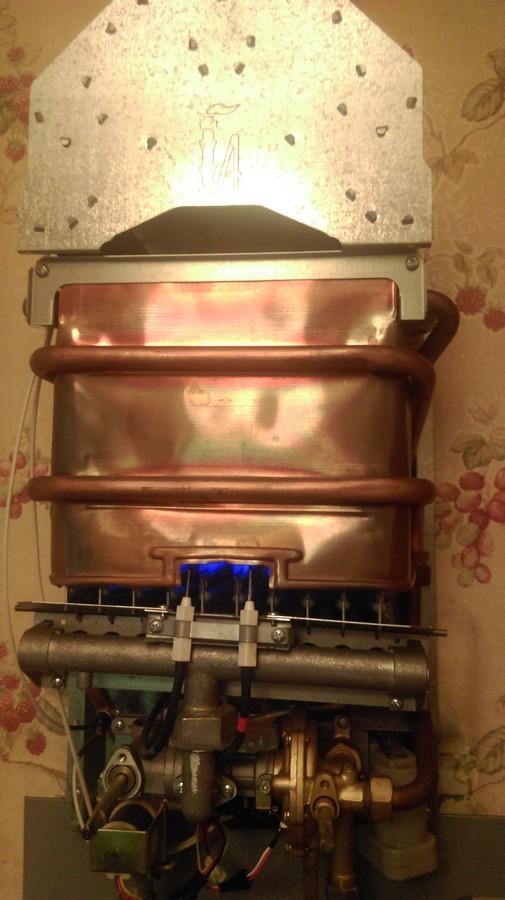 Ремонт газовой колонки Нева 4510