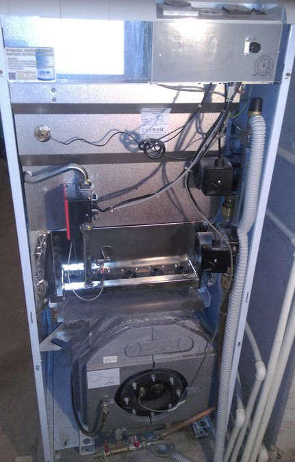 Сезонное техническое обслуживание напольного газового котла Protherm Medved 50 klz