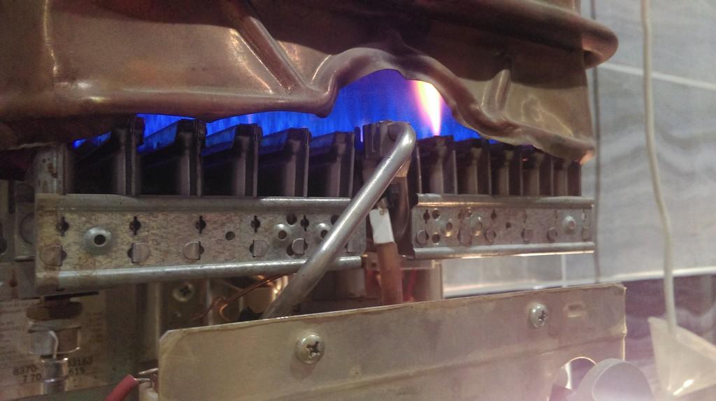 Ремонт газового проточного водонагревателя Bosch