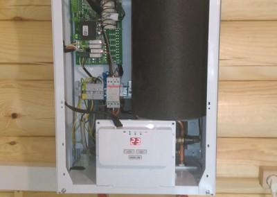 Монтаж настенного электрического котла Protherm СКАТ