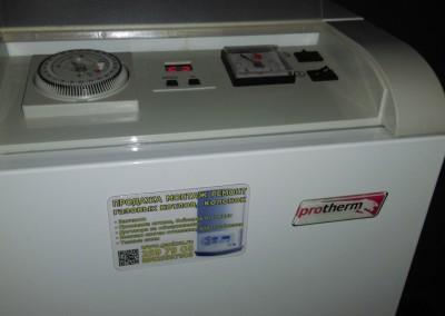 Пусконаладочные работы газового котла Protherm Medved 40 klz