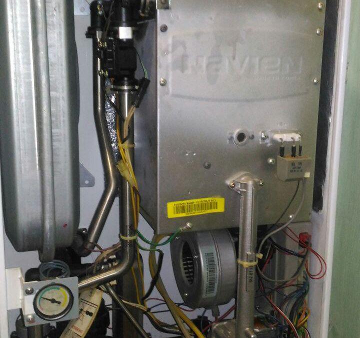 Ремонт настенного газового котла Navien