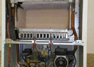 Ремонт настенного газового настенного котла Baxi Luna 3