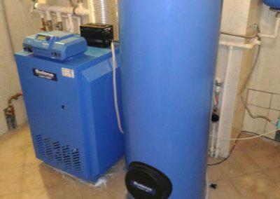Ремонт и техническое обслуживание напольного газового котла Buderus logano G234