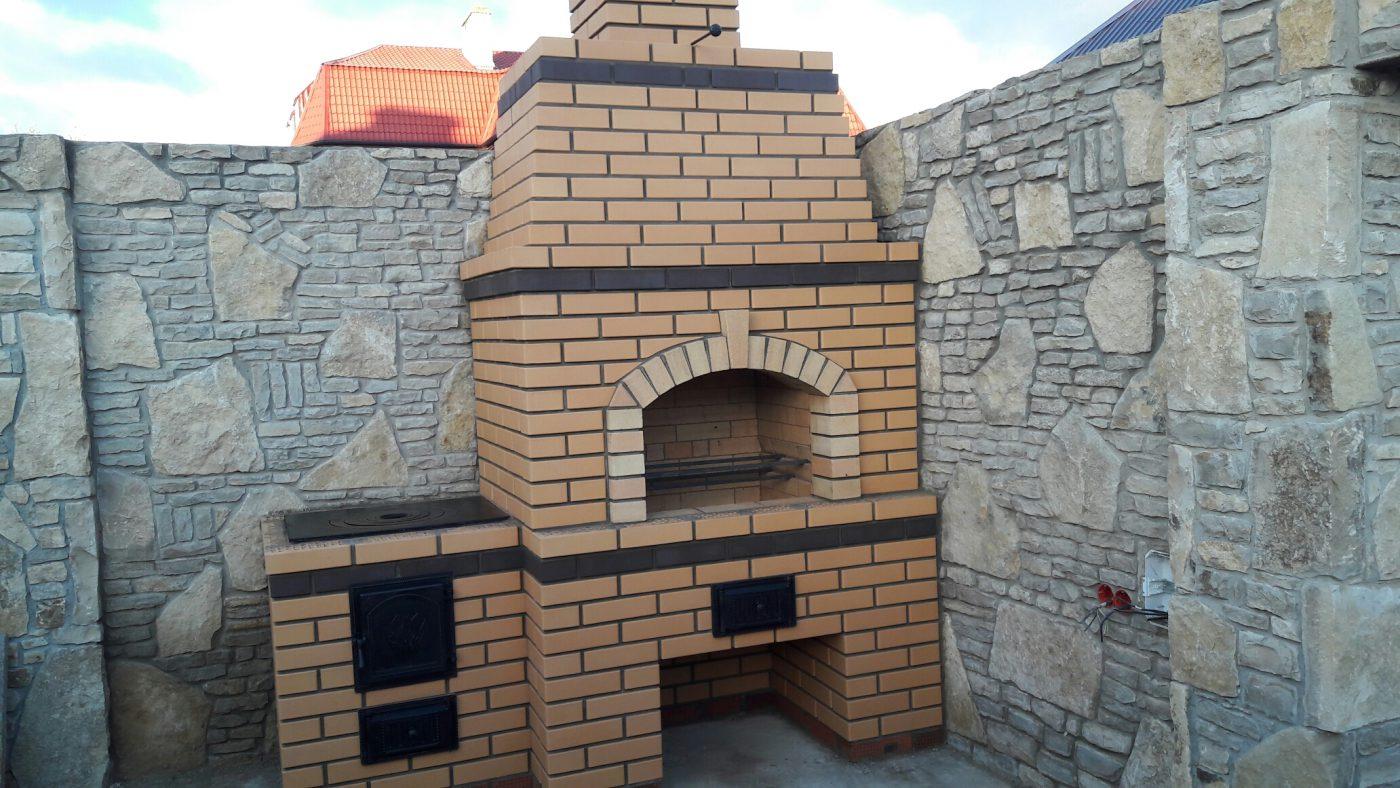 Кладка барбекю, поселок Кояшлы — 20.10.2016