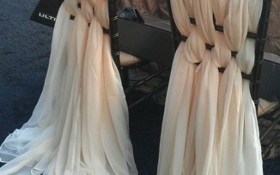 Оформление стульев