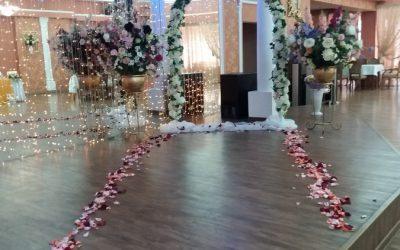 Свадебное оформление в ресторане Булгар
