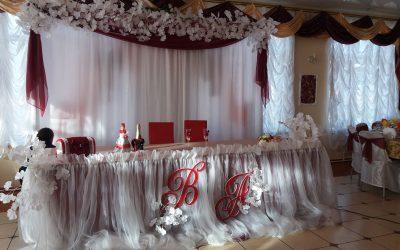 Свадебное оформление банкета — Большие Кайбицы