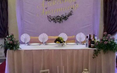 Свадьба в ресторане Виктория