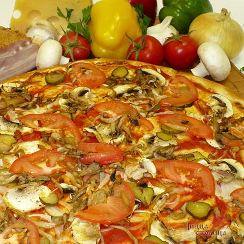 Пицца столица