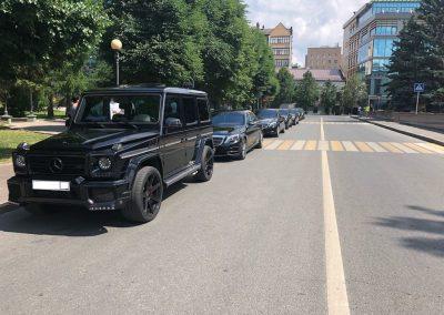 Обслуживание автомобиля VIP класса свадьбы в Казани