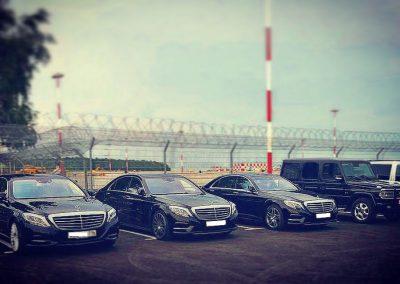 Обслуживание автомобилями Mercedes-Benz Чемпионата Мира 2018 в Казани и в Саратове